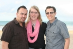 Staff in Puerto Rico: Gustavo, Emilia & Scout