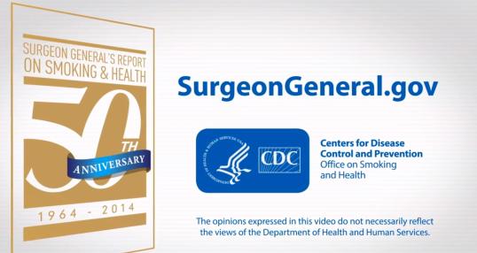 Surgeon General Video