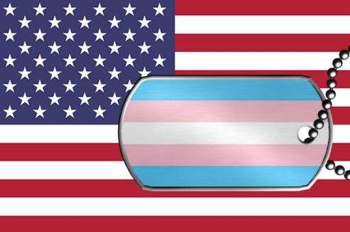 Flag w trans