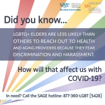 COVID Elder LGBTQ Shareable